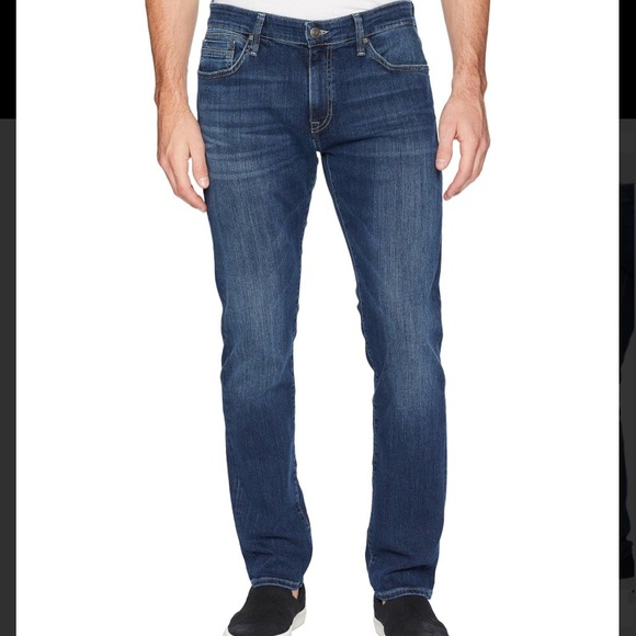 Mavi Mens Marcus Regular Rise Slim Straight Leg Jeans